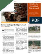 2da. Edición del Boletín de Seguridad Operacional
