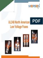 TM 106 Low Voltage American Canadian Fuses UL248 CSA En