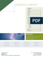 LatinFocus Consensus Forecast - July 2013