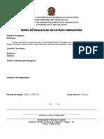 Form 2 TERMO DE REALIZAÇÃO DE ESTÁGIO OBRIGATÓRIOa.doc