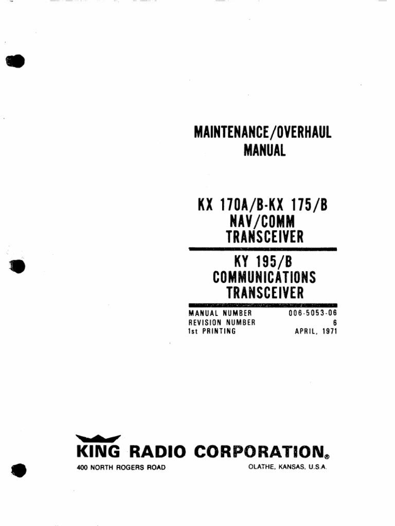 1511543302?v=1 kx 170a maintenance manual honeywell electrical connector king kx 175b wiring diagram at bayanpartner.co