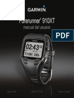 Forerunner 910XT Manual Usuario