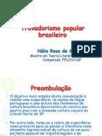 Trovadorismo Popular Brasileiro
