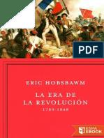 La Era de La Revolucion - Eric Hobsbawm