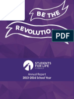 2013-2014 Students for Life of America Annual Report
