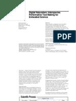 Quitmeyer Digital Naturalism Doctoral Consortium