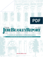 The Jere Beasley Report, May 2006