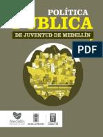 Política Pública de Juventud de Medellín