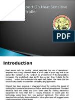 Seminar Report on Heat Sensitive Device Controller(Jaga Final)