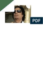 Why Gaddafi