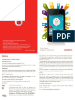 Vodafone 875 Manual