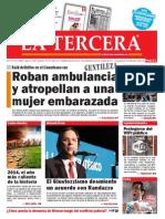 Diario La Tercera 03.02.2015