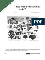 Artigo_Maria Teresa Esteban_avaliação Escolar e Exclusão Social
