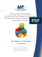 Long Island's tax burden