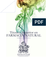 Tecnico Superior Farmacia Natural