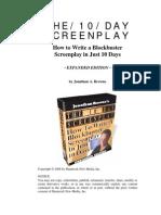 10 Day Screenplay