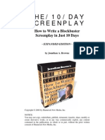 10 Day Screenplay