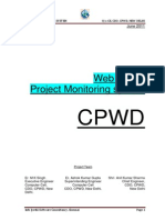 CPWD Web Based Project Monitoring System