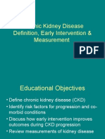 Chronic Kidney DiseaseeGFR