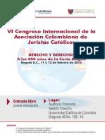 116 14653 Vi Congreso Internacional de Juristas Catalicos Derecho y Derechos