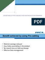 Advantages of Pro-cabling