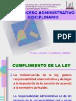 El Proceso Administrativo Disciplinario