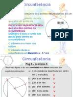 Circunferencia- Ângulos Ao Centro e Inscritos