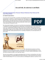 Print _Decoding PK_ Despite Fun and Frolic, The Undertone is Anti-Hindu