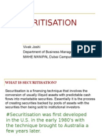 Asset Securitisation..