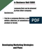 2 Developing Marketing Strategies