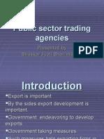 Public Sector Trading Agencies