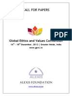 GEVC - Call for Papers