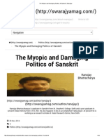 The Myopic and Damaging Politics of Sanskrit _ Swarajya.pdf