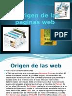 El Origen de Las Paginas Web Final
