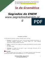 Apostila Portugues Gramatica ENEM 2013.doc