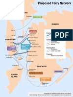 Proposed Routes for NYC's Expanded Ferry Service.