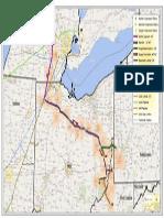 ET Rover Pipeline route