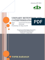 Retentio Urine Dan Kateterisasi