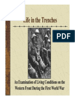 life in the trenches of wwi ppt