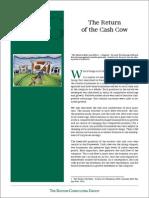 BCG Return of the Cash Cow Nov 2008