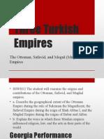 three turkish empires - wh standard 12