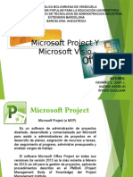 Microsoft Proyect y Visio