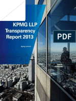 KPMG LLP Transparency Report