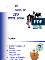 Iso9001- An Introduction