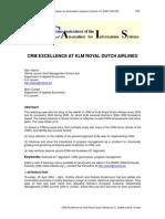 Klm Crm Case