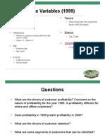 Class Pilgrim Variables case solution
