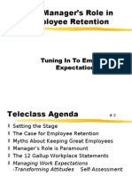 The Manager's Role in Employee Retention