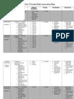 2014-2015 7th grade pacing schedule
