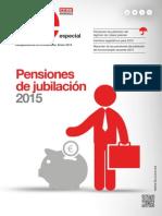 Pensiones 2015 para el personal funcionario