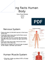 amazing facts human body